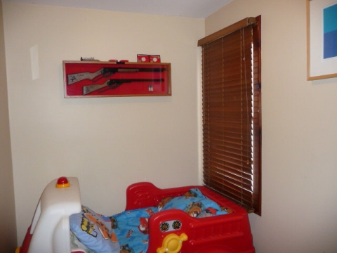 Rifle Over Cot