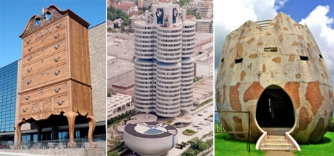 The worlds most creative commercial buildings the Longaberger basket building for sale