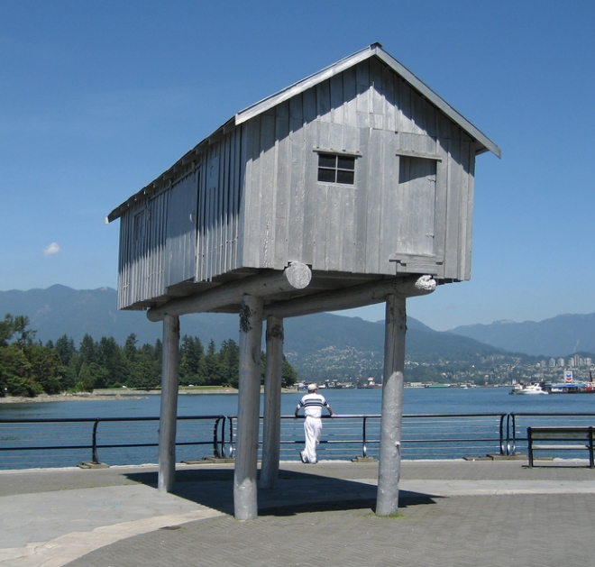 And finally theres the how do i get in house on stilts