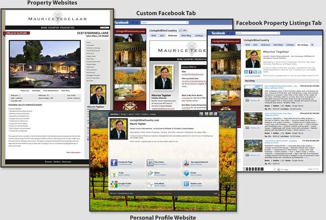 AgencyLogic Single Property Website Social Media