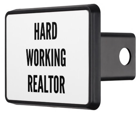 Real Estate Hitch Cover