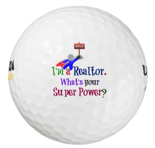 real estate golf ball