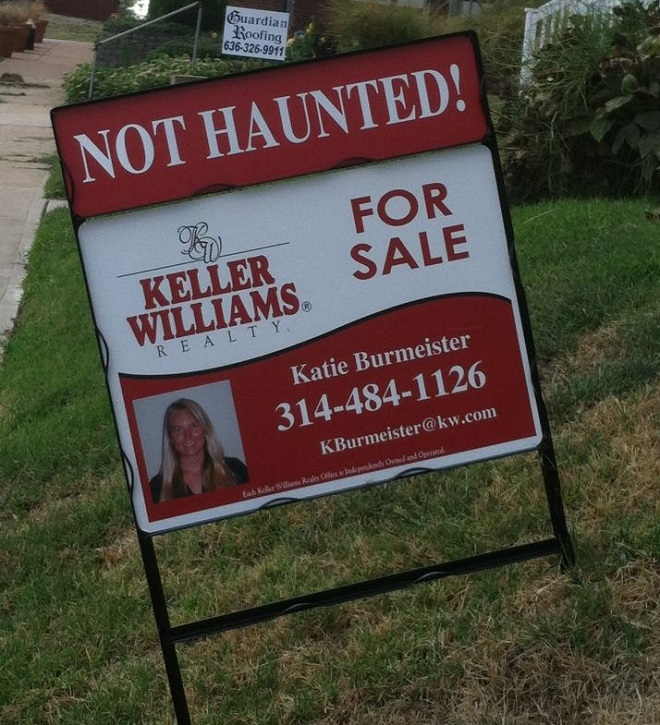 Not Haunted Home