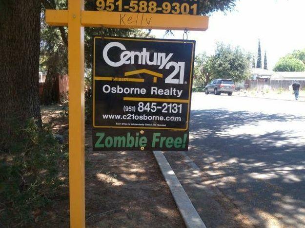Zombie Free Real Estate