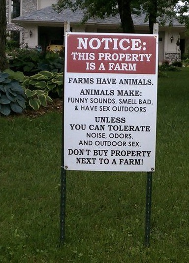 Funny Real Estate Sign