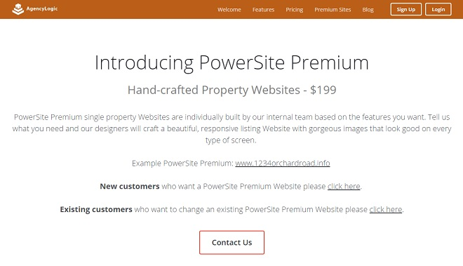Single Property Website Powersite Premium