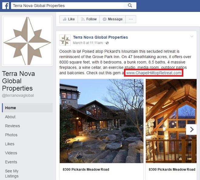 Terra Nova Facebook Page